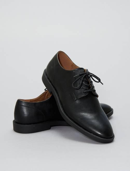 Nette schoenen van imitatieleer                             zwart Schoenen