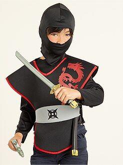 Kinder verkleedkleding - Ninja verkleedkostuum - Kiabi