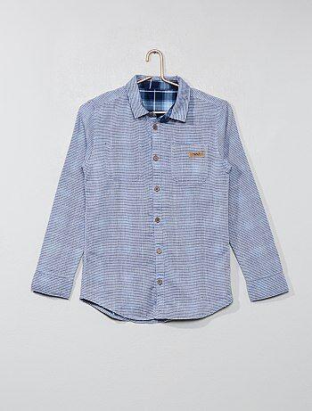 Omkeerbaar overhemd - Kiabi