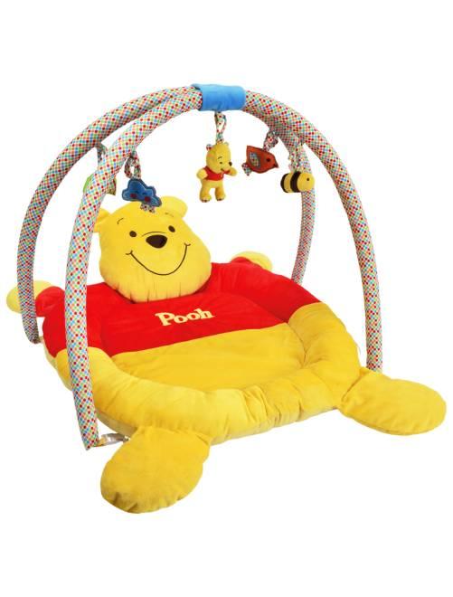 Opvouwbaar speelkleed van 'Winnie de Poeh'                             geel