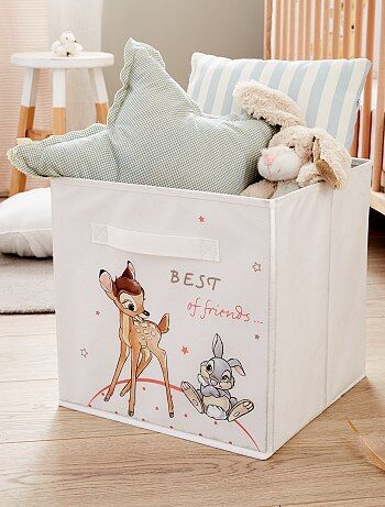 Woongoed - Opvouwbare opbergdoos van 'Bambi' en 'Stampertje' - Kiabi