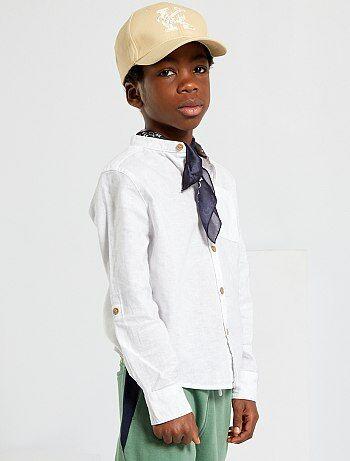 Overhemd met maokraag - Kiabi
