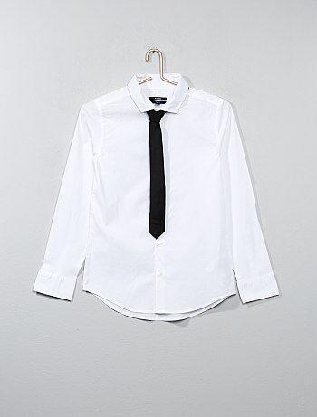 Overhemd met stropdas - Kiabi