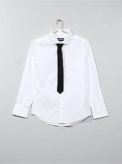Kinder shirts - Overhemd met stropdas
