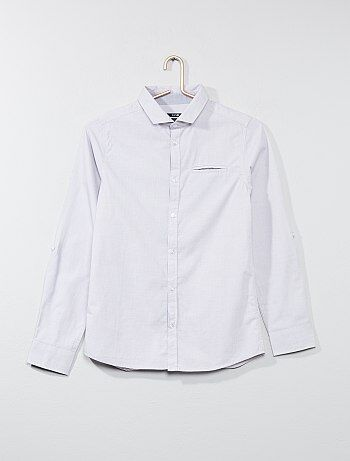 Overhemd van 100% katoen - Kiabi
