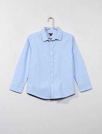 Overhemd van oxfordkatoen - Kiabi