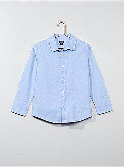 Kinder shirts - Overhemd van oxfordkatoen