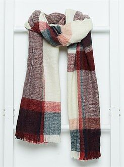 Kinder accessoires - Oversized geruite sjaal