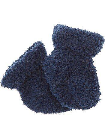 Paar effen pantoffelsokken - Kiabi