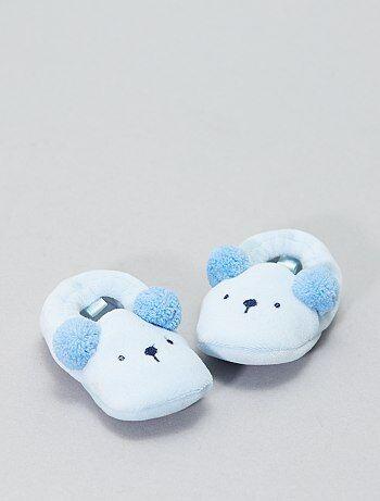 Pantoffels met dierenkop - Kiabi
