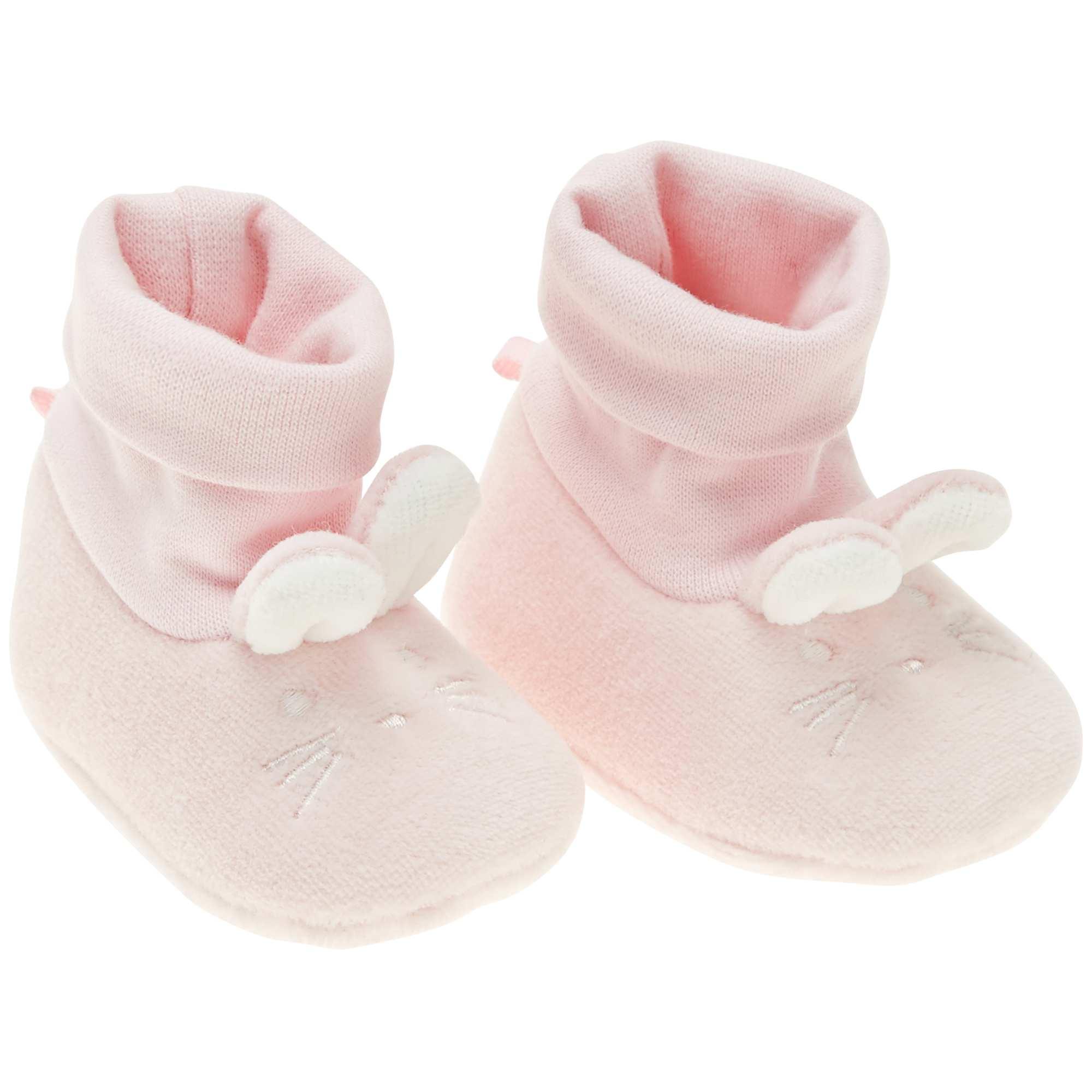 Roze Babykleding.Pantoffels Met Konijn Meisjes Babykleding Roze Kiabi 5 00