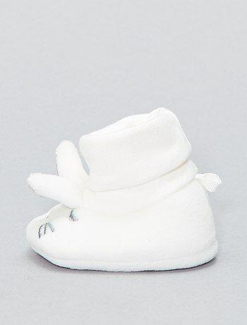 Pantoffels met konijnenkoppen - Kiabi