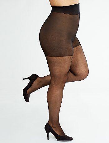 Damesmode grote maten - Panty Comodo Curvy voor +-sizes van 'Sanpellegrino' 20D - Kiabi