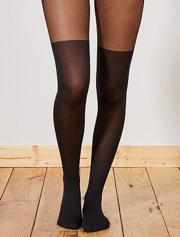 Panty met kniekousenlook van 'Dim' 60D - Kiabi