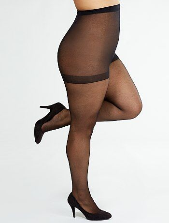 Damesmode grote maten - Panty Supermaxi van 'Sanpellegrino' 20D - Kiabi
