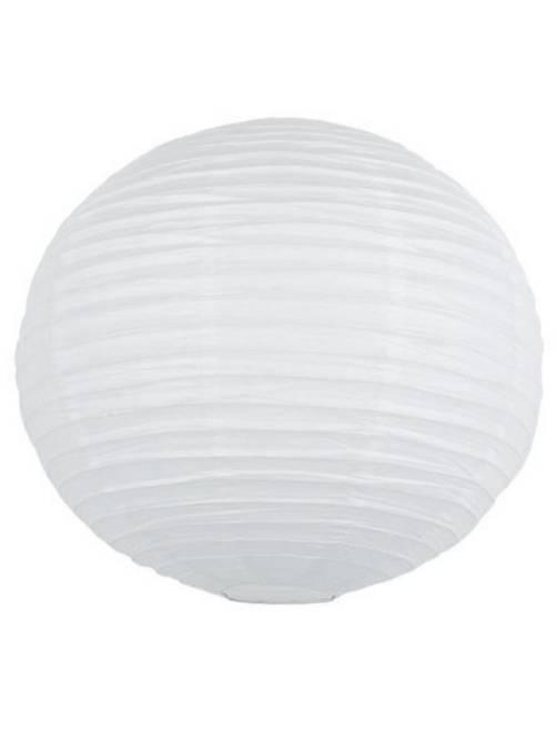 Papieren Chinese lampion van 15 cm                                                                                                     wit