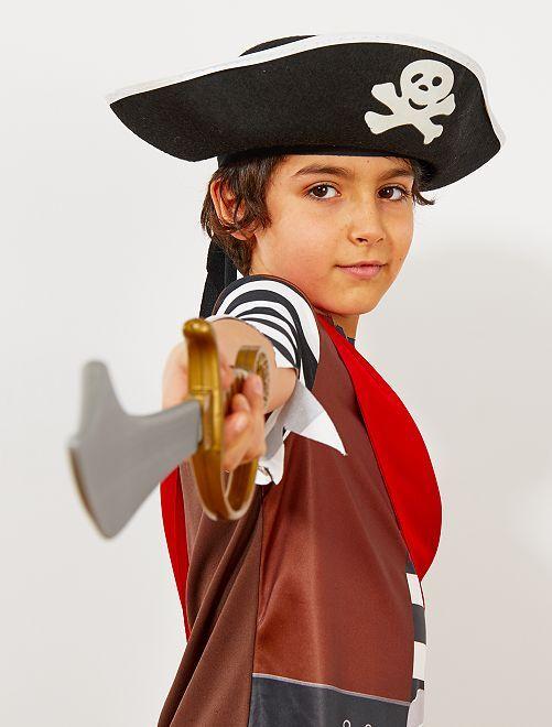Piratenhoed voor kinderen                             zwart