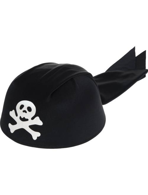 Piratenhoedje                             zwart