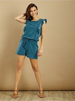 Capri, short - Playsuit van playsuit met ruches