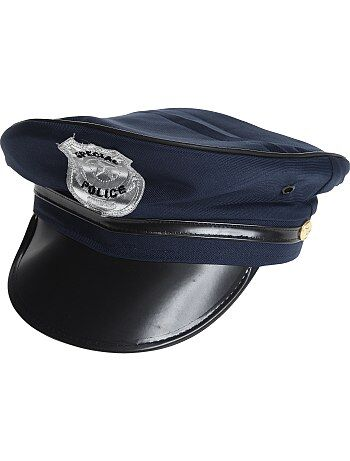 Politiepet met vizier en insigne - Kiabi