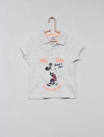 Polo met print van 'Mickey Mouse' van 'Disney' - Kiabi