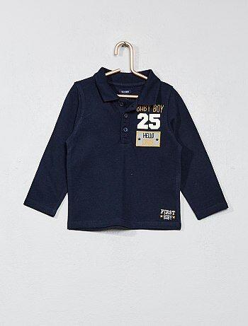 Jongen 0-36 maanden - Polo van piquékatoen - Kiabi