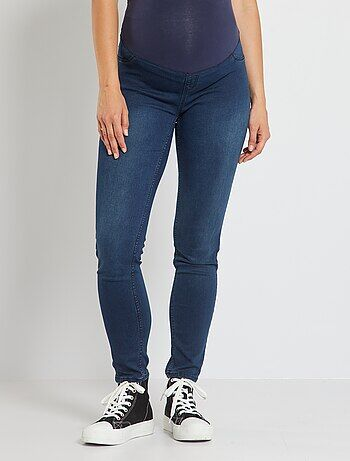 Positiejegging met denim effect - Kiabi