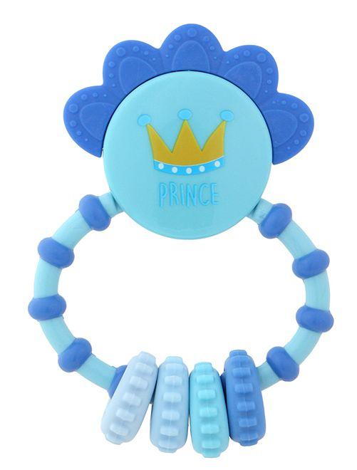 Prinsenrammelaar met bijtring                             blauw