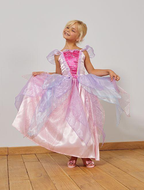 Prinsessenjurk                             roze/paars