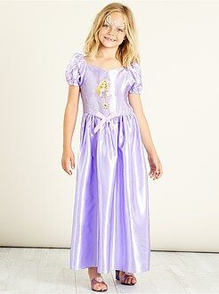 Kinder verkleedkleding - Prinsessenkostuum van 'Rapunzel'