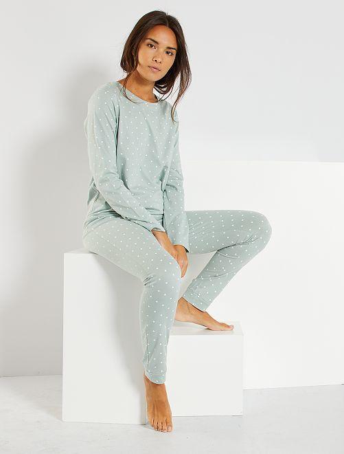 Pyjama 'Ecodesign'                                                                 BLAUW