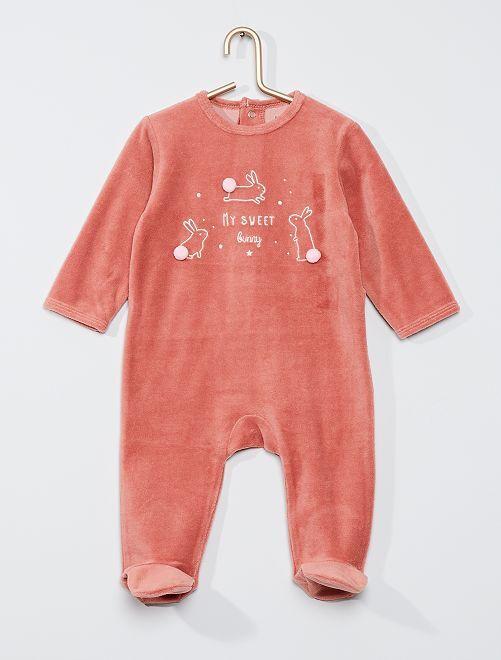 Pyjama met print 'Ecodesign'                                                                                                                                                                                                                             ROSE