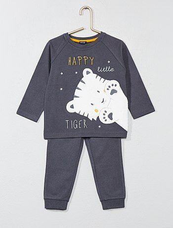 Pyjama met tijgerprint - Kiabi