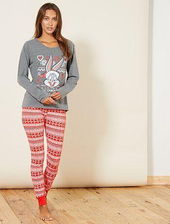 Pyjama van 'Bugs Bunny' - Kiabi