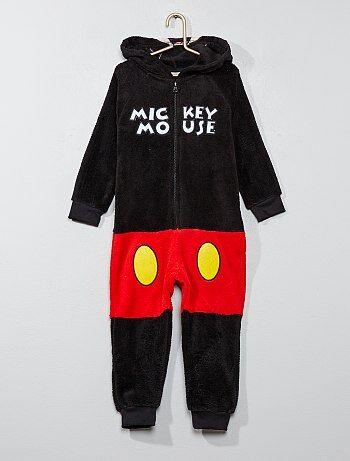 Pyjama van fleecestof van 'Mickey' - Kiabi