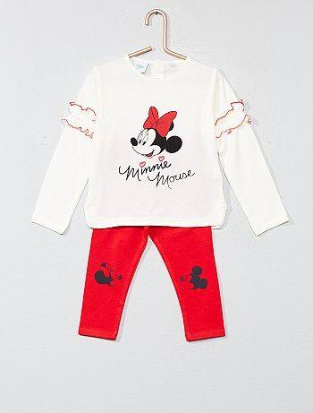 Pyjama van 'Minnie' met ruches - Kiabi