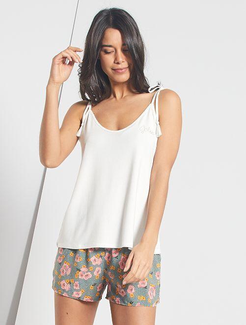 Pyjamapak met short                             KAKI