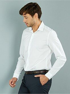 Overhemd - Recht overhemd van katoen