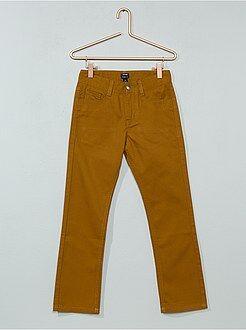 Kinder broeken - Rechte broek van twill - Kiabi