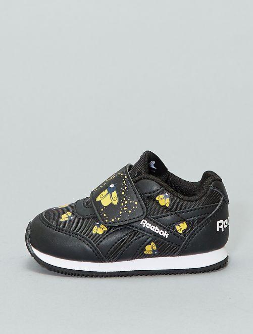 'Reebok Royal CL Jogger KC'-sneakers met klittenband                                         ZWART Schoenen