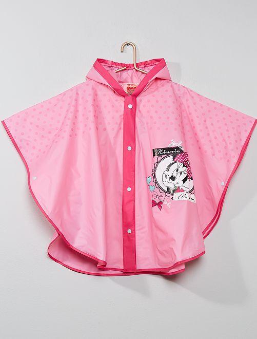 Regenponcho van 'Minnie'                             roze Kinderkleding meisjes