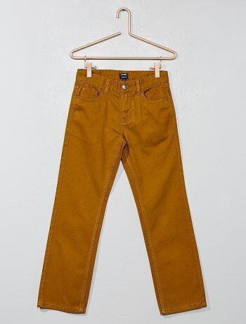 Regular broek van twill - Kiabi