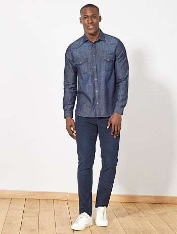 Regular denim overhemd - Kiabi