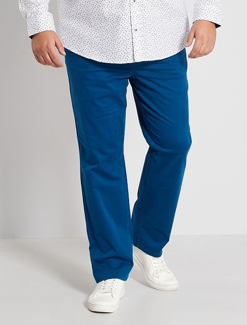 Regular-fit chinobroek L30                                                                             blauw poseidon
