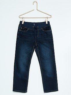 Stevige kinderen - Regular jeans met elastische tailleband, grote maten