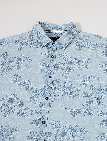 Maat Overhemd Heren.Recht Overhemd Maat 47 48 Kiabi
