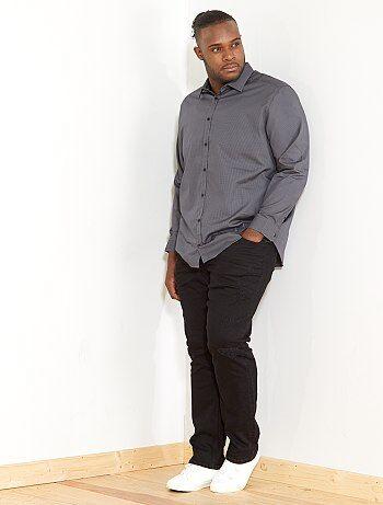 Regular overhemd met micromotief - Kiabi