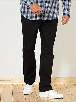 Regular raw jeans