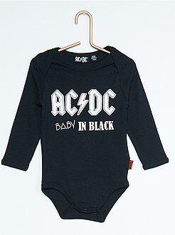 Rompertje met 'AC/DC'-print