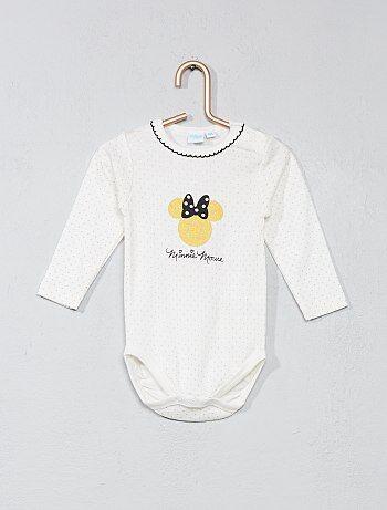 Meisje 0-36 maanden - Rompertje van 'Minnie Mouse' - Kiabi